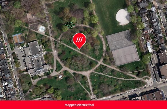 This is a screenshot of a what 3 words map