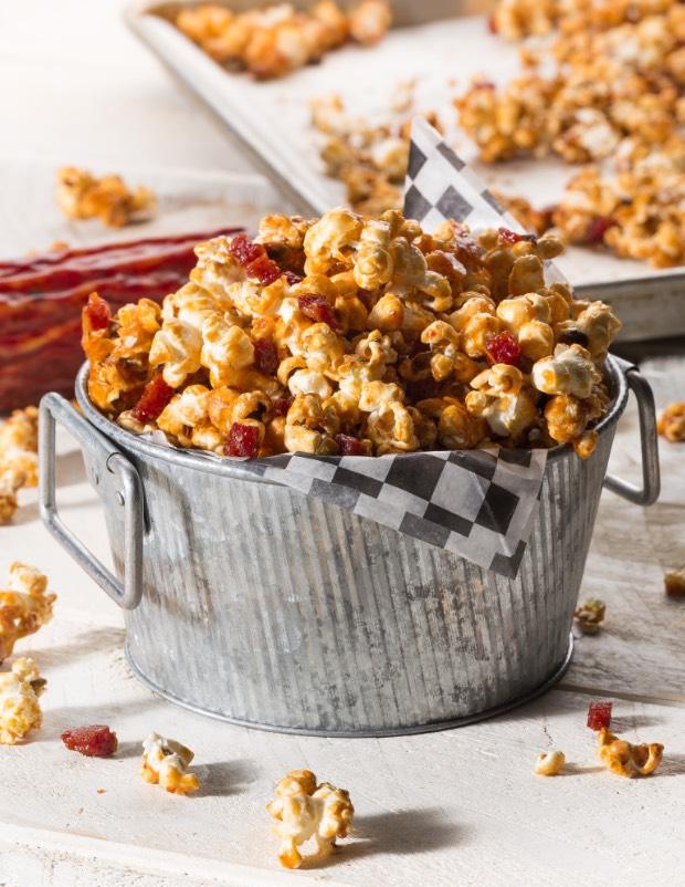 Salami popcorn recipe