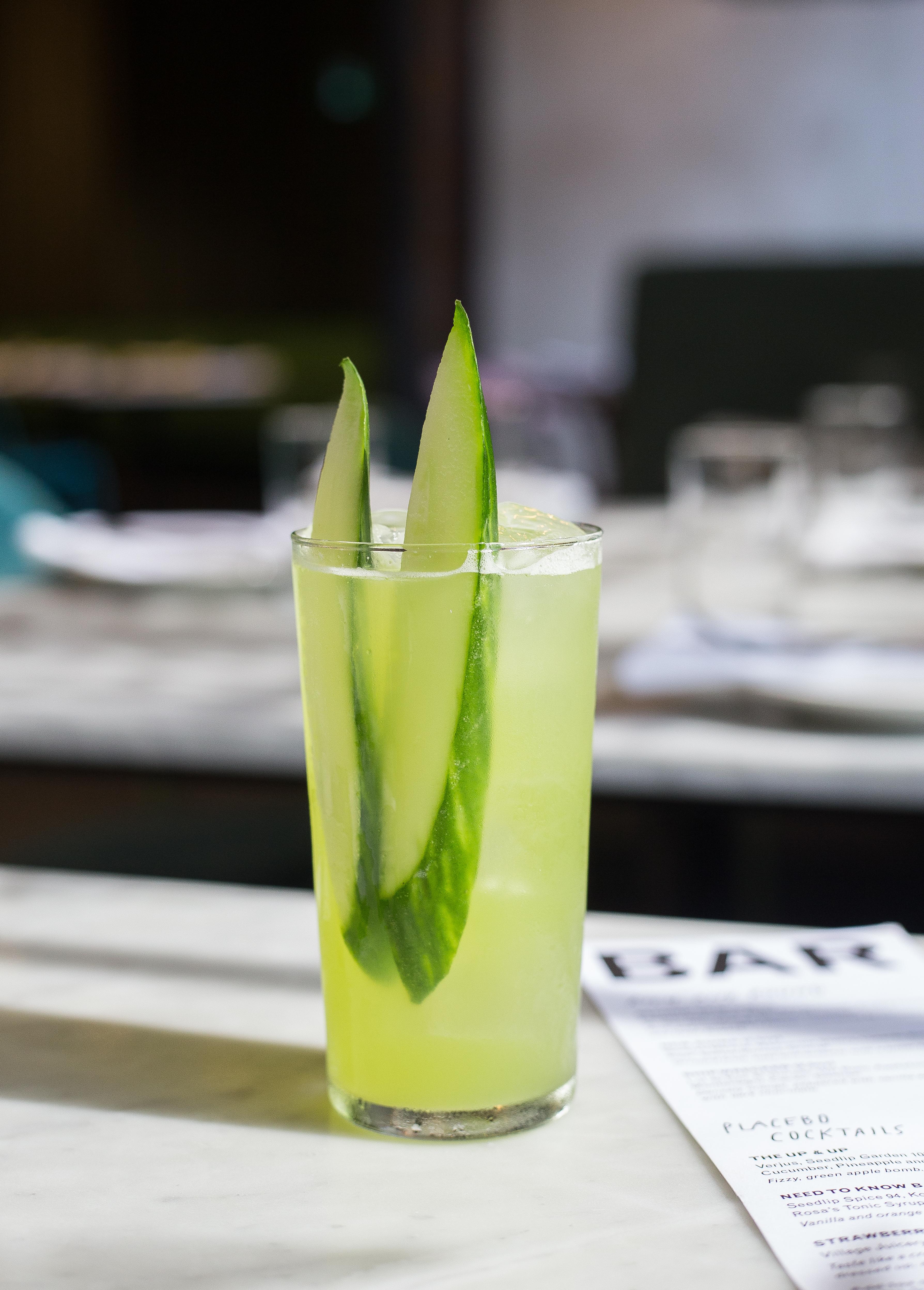 The Up & Up cocktail at Rosalinda restaurant