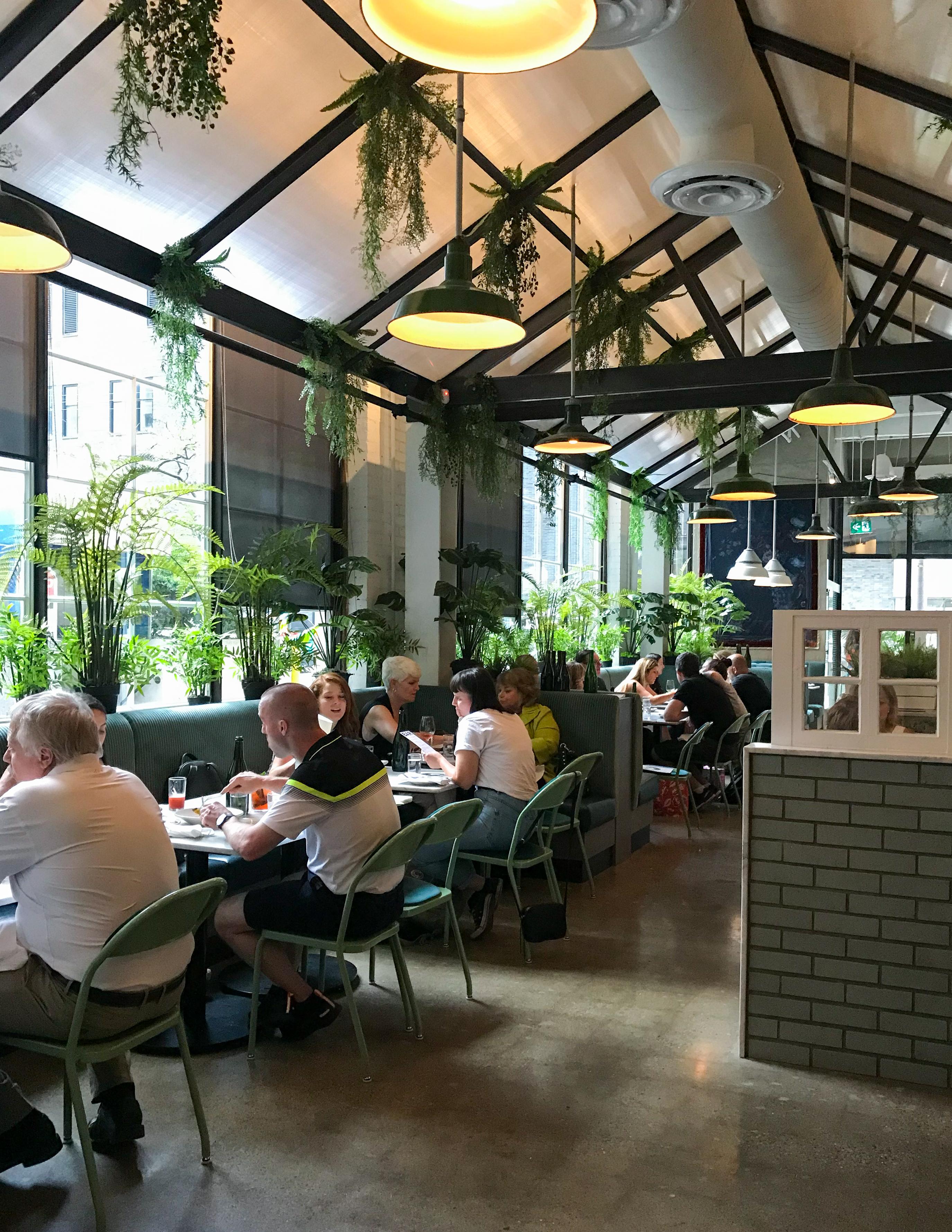 Rosalinda restaurant dining room