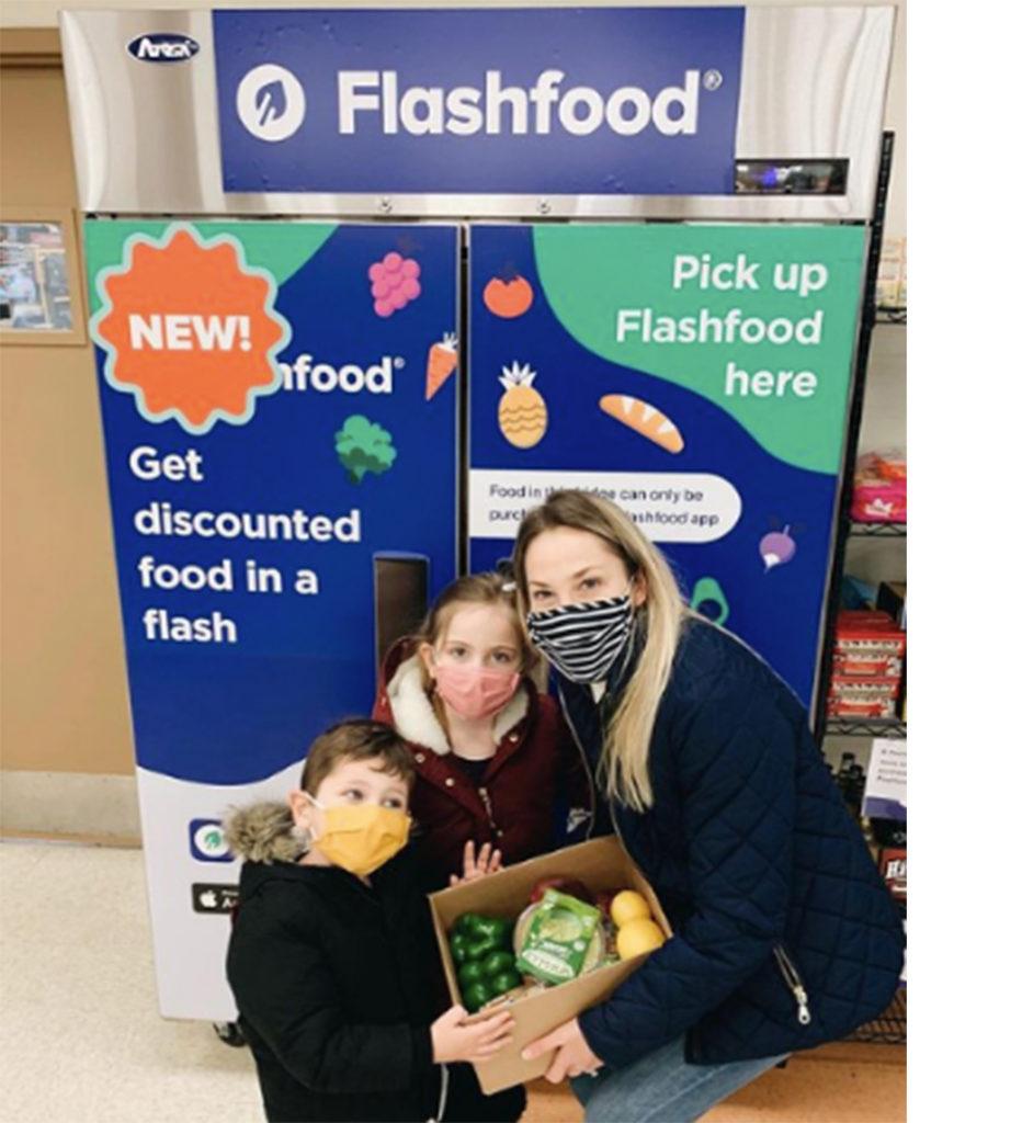 Flashfood pickup kiosks help reduce food waste